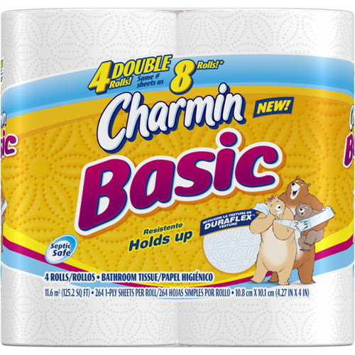 Free Roll Of Charmin Basic Bath Tissue The Krazy Coupon