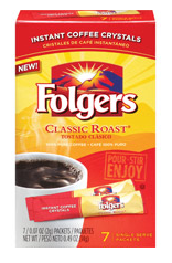 Folgers Coupon: Classic Roast Singles $0.50 Moneymaker at Walmart!