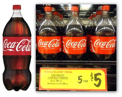 Free Coke 2-Liter at BI-LO!