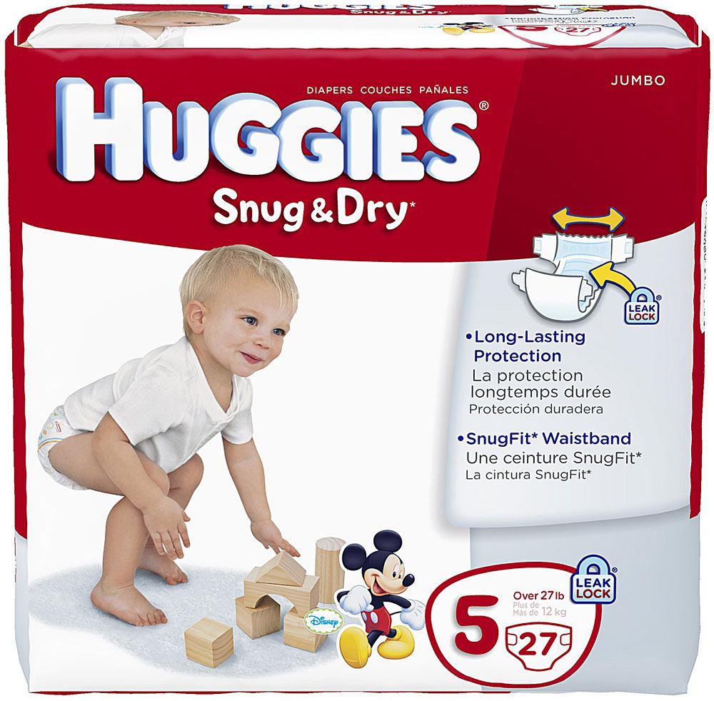 Huggies Snug & Dry Jumbo Pack Diapers, Only $4.12 at Target! - The ...