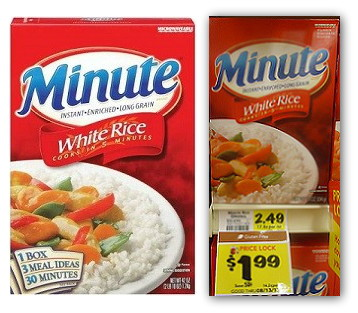 Minute Rice, Only $0.99 at BI-LO!