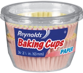 Reynolds Coupon: Better-than-Free Baking Cups at Walmart, Starting 6/23!