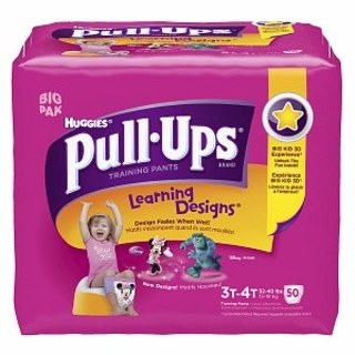 Pull-Ups Coupon, Only $5.54 at Target!