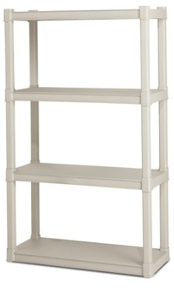 4-Tier Sterilite Shelving, Only $25 Shipped at Amazon!