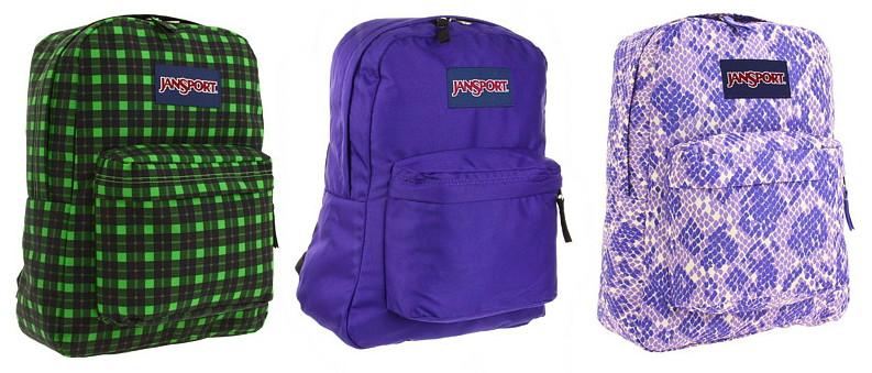 JanSport Superbreak Backpacks, Only $14.00 Shipped! - The Krazy ...