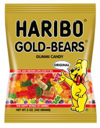 Save $0.30 on Haribo Product, 4 oz or Larger