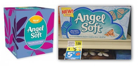 Angel Soft Facial Tissue, Only $0.25 at BI-LO!