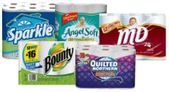 Bath Tissue and Paper Towel Sale at Safeway—Save on Angel Soft, Sparkle and More!