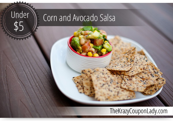 This corn and avocado salsa is a crowd pleaser! Bring it to your next ...