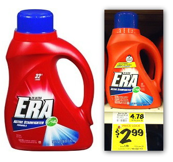 Era Laundry Detergent, Only $1.99 at BI-LO!