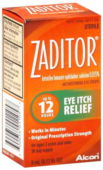 Zaditor eye drops