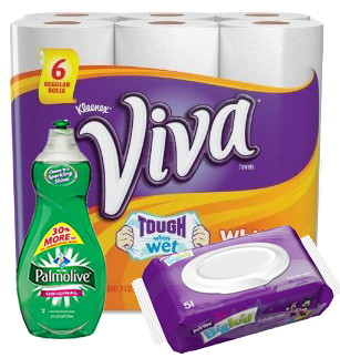$55 in FREE Huggies, Colgate, Kleenex, Scott TP and Viva Paper Towels at Walmart!