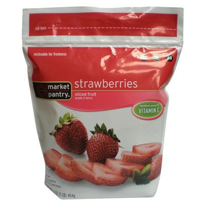 Market Pantry Frozen Strawberries, Only $1.19 at Target!