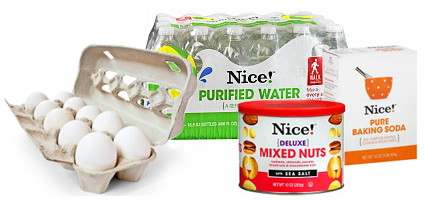 Walgreens Nice! Brand Nuts, Bottled Water and More, Only $1.09!