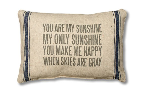 Its Back! You Are My Sunshine Pillow, Only $11 Shipped