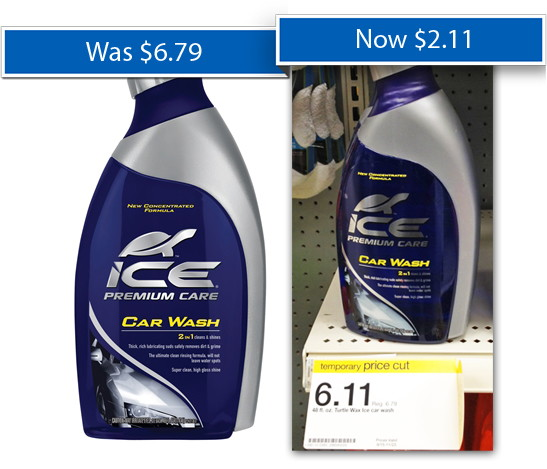 Turtle Wax Ice Car Wash Only 2 11 At Target 8212 Save 4 00