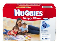 Huggies Fragrance Free Wipes, Just $0.01 Per Wipe at Amazon!