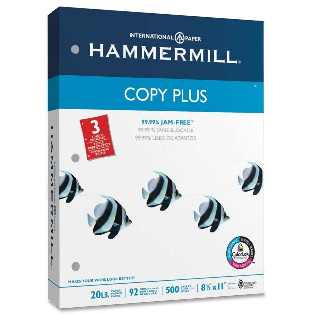 Free Hammermill Copy Paper at Staples!