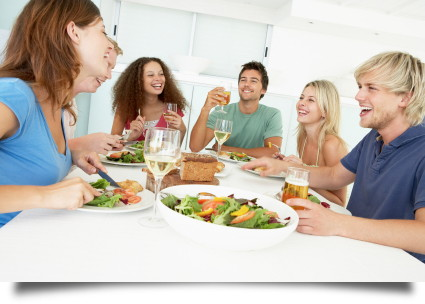 Hosting A Dinner Party make money hosting dinner parties with homedine - the krazy coupon