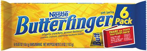 Butterfinger Fun Size Six-Packs, Only $0.12 at Rite Aid!
