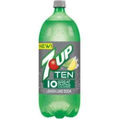 7-up ten 2 liter