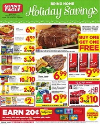 Giant Eagle Coupon Deals: Week of 11/28