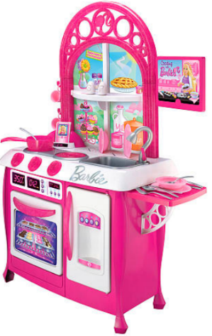 barbie gourmet kitchen, just $44.98 shipped!