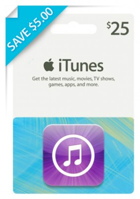 Save $5.00 on $25.00 iTunes Gift Card at Rite Aid! - The Krazy ...