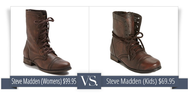Save Big by Buying Kids' Size Shoes (That Look and Fit Just Like ...