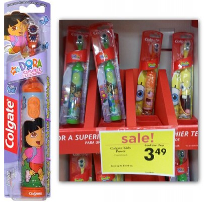 Colgate Kids' Power Toothbrush, Only $2.49 at Giant Eagle!