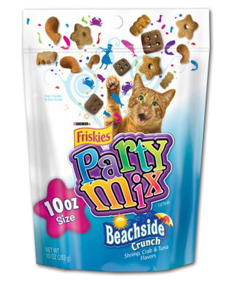 Friskies Party Mix, Only $2.00 at Harris Teeter!