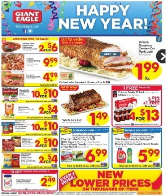giant eagle ad 12262013