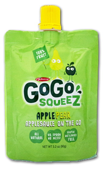 GoGo Squeez, Only $0.50 at Harris Teeter!