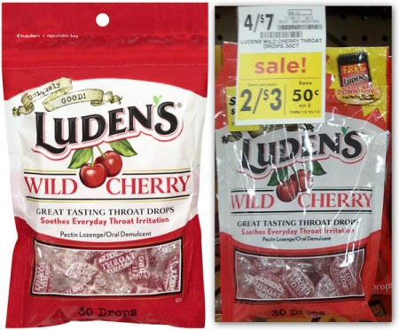Luden's Cough Drops, Only $1.00 at Giant Eagle!