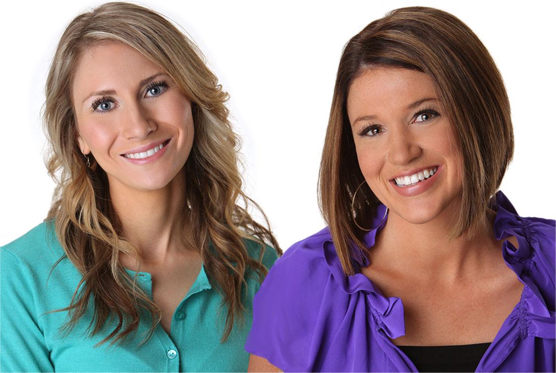 Heather and Joanie