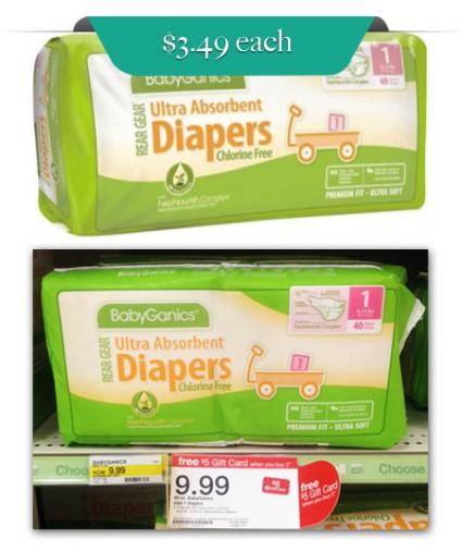 BabyGanics Diapers Target
