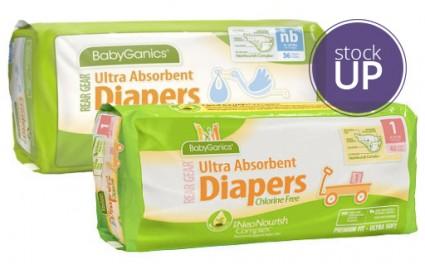 BabyGanics Jumbo pack diapers Target