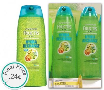 Garnier Hydra Recharge Shampoo Target