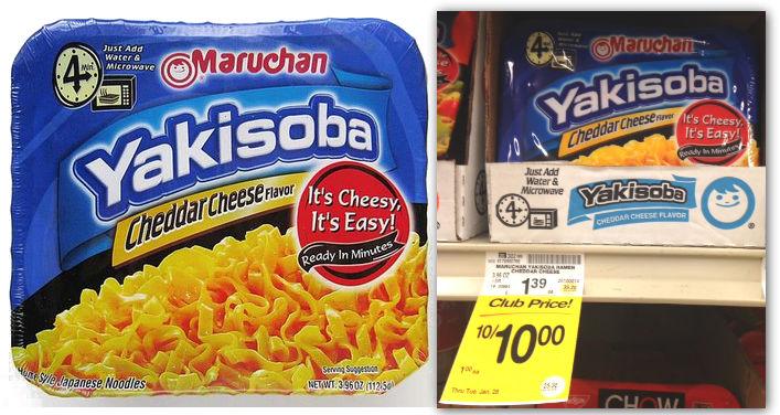 Maruchan Yakisoba Safeway Coupon