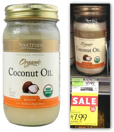 Spectrum Coconut Oil Whole Foods