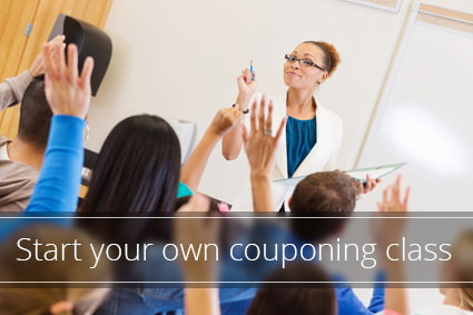 Create Couponing Classes in Your Community
