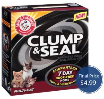 Arm & Hammer Clump and Seal Target