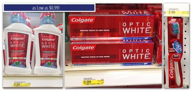 Colgate Optic White Mouthwash Target
