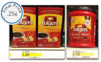 Folgers Target