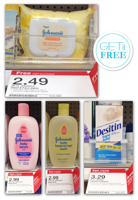 Johnson's Baby Promotion Target