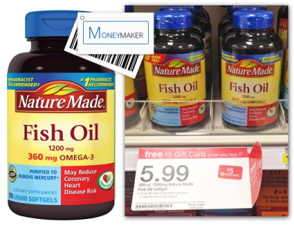 Nature Made Fish OIl Target Moneymaker
