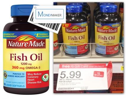 Nature Made Fish OIl Target Moneymaker