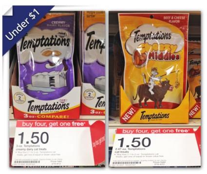 Temptations Cat Treats Target