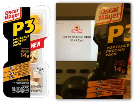 oscar mayer p3 shoprite