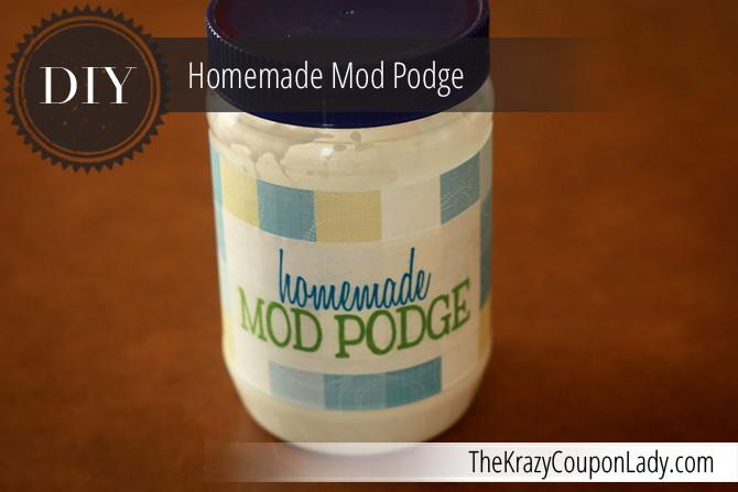 Make Your Own Mod Podge and Save!